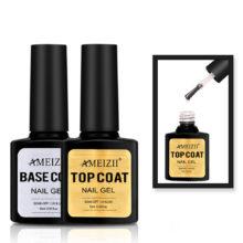 Top Coat and Base Coat Gel Nail Polish