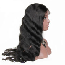 Glueless Body Wave Full Lace Human Hair Wigs For Women Long Brazilian Remy Hair 8-24Inch Pre Plucked Hairline Full End