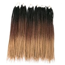 Ombre Box Braiding Hair Extensions