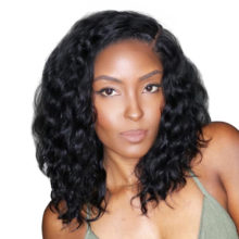 Cexxy Short Lace Front Human Hair Wigs Brazilian Natural Wave Remy Hair Bob Wig For Black Women Pre Plucked with Baby Hair