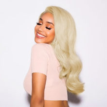 CEXXY Blonde 613 Lace Front Human Hair Wigs Pre Plucked Wig With Baby Hair Body Wave Virgin Hair Free Shipping