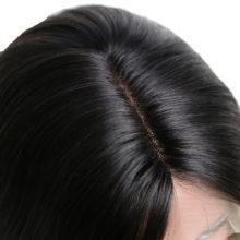 Baisi Hair 13*6 Bobo Wig Lace Front Human Hair Wigs Straight 150% density Double Drawn Mink Brazilian Hair