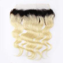 BAISI Hair Peruvian Virgin hair ,1B/Blonde Body Wave Human Hair, 3 Bundles and 13x4 Frontal, Free Shipping