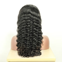 BAISI 360 Lace Frontal Wigs/Full Lace Wig/ Lace Front Wig Pre-Plucked Natural Wave with Natural Hairline 150% Density
