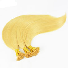 BAISI European Remy Hair Blonde Straight I Tip Human Fusion Hair ,100 Strands/Lot,0.5g/Strand,50/Lot Free Shipping