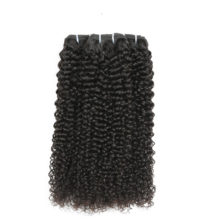 Code Calla Peruvian Unprocessed Raw Virgin Human Hair Extension 1/3/4 Bundles Afro Kinky Curly Weave Bundles Natural 1B Color