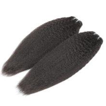 Code Calla Raw Unprocessed Peruvian  Virgin Human Hair Extension Yaki Kinky Straight Weave 1/3/4 Bundles Free Shipping For Women