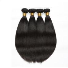 Code Calla Malaysian Straight Raw Virgin Human Hair Extension Bundles With Frontal Closure Natural Black Color Free Shipping