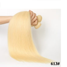 Code Calla  613/27 Blonde Hair Bundles Straight Human Hair Extension 10 To 18inch Non-Remy Brazilian Hair Weave Free Shipping