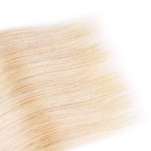 AISI HAIR Brazilian Straight Hair Weave 1 PCS 613 Blonde 100% Human Hair Bundles Non Remy Honey Blonde Hair Bundles