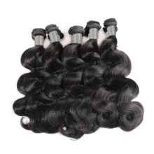 Hair Products Peruvian Hair Weave Bundles 10Pcs/lot Body Wave 100% Human Hair Weaving Natural Color Remy Hair