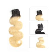 Ali Queen Hair Products Body Wave Brazilian Virgin Hair 1/3/4 Pcs Blonde 613/Natural Black/1b-613 100% Human Hair Weave Bundles
