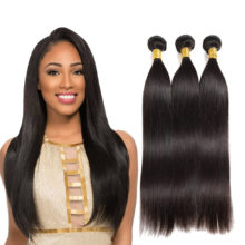 Soph Queen Hair Brazilian Virgin Hair Weave Bundles Brazilian Straight Hair Bundles 100% Human Hair Bundles Can Buy With Closure