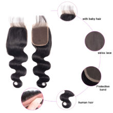 Soph Queen Hair Body Wave Bundles With Closure Malaysian Unprocessed Virgin Hair Weave Bundles With Closure Human Hair Extension