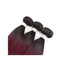 Soph queen Hair Pre-Colored T1B/99J Malaysia Straight Wave Bundles 100% Human Hair Bundles 8A Grade Can Be Dye