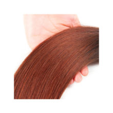 Brazilian Straight Ombre Hair Bundles T1B/33 Human Hair 1 Bundles 8-24 Inch Remy Hair Extensions