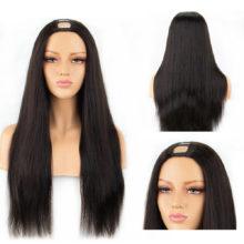 250% Density Straight U Part Wigs For Black Women Middle Part Human Hair wigs Brazilian Remy Hair Wigs Full End Aliblisswig