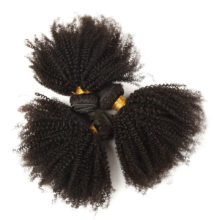 ALIMICE Hair Mongolian Afro Kinky Curly Hair Weave 3 Bundles Deal 100% Human Hair Extensions 8-26 Inch Remy Hair Weaves
