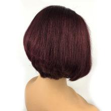 1B 613 Blonde 13x6 Lace Front Human Hair Short Wigs Bob Wigs Pixie Cut Ombre Color Black Straight For Women Brazilian Hair 150%