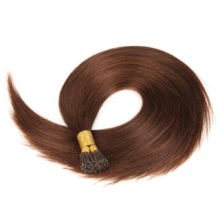 Alishow 22inch 1g/S Pre Bonded I Tip Hair Extension 100% Human Hair Silky straight Remy Hair 100g Stick Keratin Extension 100pcs