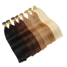 Alishow Remy Hair I Tip Keratin Human Hair Extensions 16