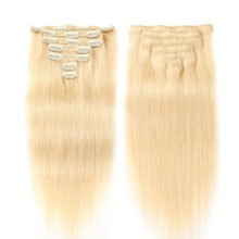 Alishow Double Drawn Clip In Human Hair Extensions Silky Straight Remy Hair 7pcs 100% Real Human Hair Clips Full Head 100g-160g