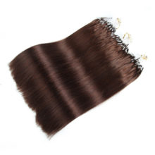 Alishow Straight Loop Micro Ring Hair 1g/s 100g/pack 100% Human Hair Straight Micro Bead Links  Remy Hair Extensions Mix Colors