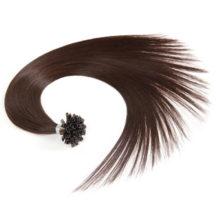 YILITE Straight Keratin Human Fusion Hair Nail U Tip Non-remy Human Hair Pre Bonded Hair Extension 18'' 1g/s Muti-Colors