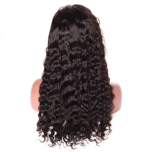 Peruvian Water Wave Wig Full Lace Human Hair Wigs For Women Lace Wig With Baby Hair Pre-Plucked Natural Hairline Non Remy Beyo