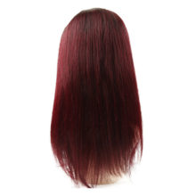 13X4 T1B/99J Ombre Lace Front Human Hair Wigs For Black Women Brazilian Straight Lace Frontal Wig 130/150/180 Density Remy Beyo