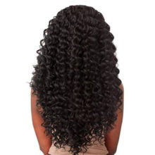 Peruvian Deep Wave Wig 360 Lace Frontal Human Hair Wig Pre Plucked With Baby Hair Wigs For Women Natural Color Remy Hair Beyo