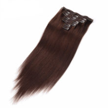 Full Head Straight Clip In Hair Human Hair Extensions 100% Remy Hair For  Women 160g 8 Pieces/Lot UPS Free Shipping
