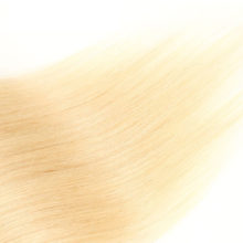Clip in Human Hair Extensions Double Drawn Clips in Remy Hair Extensions 7pcs 100g/pack Light Blond Straight hair